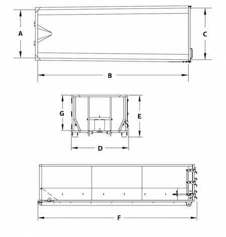 Roll-Off Containers Specifications